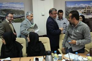نشست خبری معاون خدمات شهری شهرداری تهران